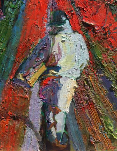 Ray-Roxie_RowWalking-14x11_oiloncanvas